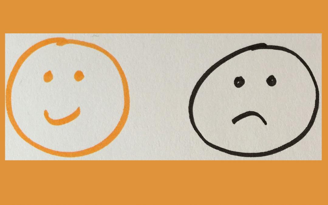 Drei Gründe, warum Sie auch mal unglücklich sein dürfen